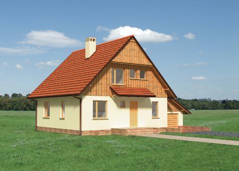 Проект дома из пеноблоков 9х9